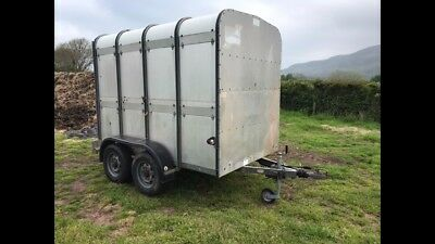 ifor williams stockbox livestock trailer