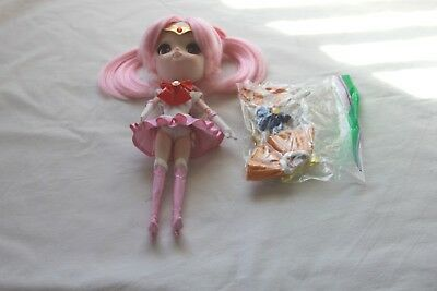 Sailor Moon Chibi Moon Chibi Usa School Girl Type Doll Bandai Pink Hair