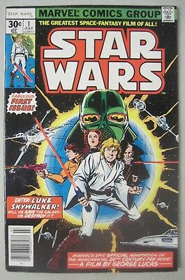 Star Wars #1 July 1977 Marvel Comics First Issue Roy Thomas Howard Chaykin