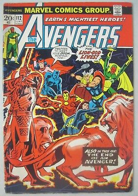 Avengers #112 Marvel Comics 1973 1St Mantis Appearance Guardians Of The Galaxy