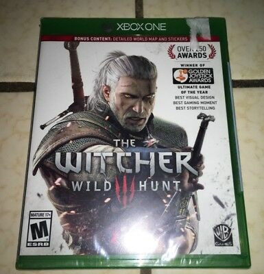 The Witcher 3 Wild Hunt Ultimate Game Of The Year Edition Xbox One, Sealed