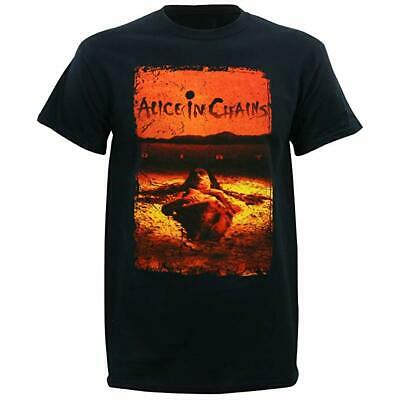 Alice in Chains Sporco Alternativa Musica Gruppo Rock Adulto Uomo Tshirt