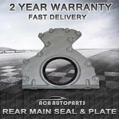 HOLDEN Rear Main Oil Seal & Plate Housing STATESMANWH WK WL WM WN V8 Brand New