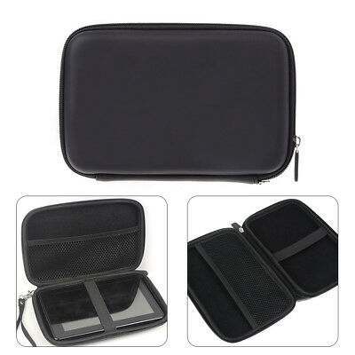 AU_ 7 Inch Hard Shell Carry Bag Zipper Pouch Case GPS Earphone Storage Latest
