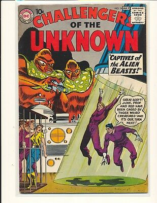 Challengers of the Unknown # 14 VG+ Cond.