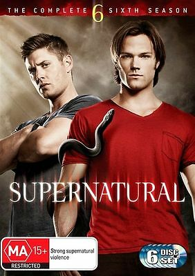 N13 BRAND NEW SEALED Supernatural : Season 6 (DVD, 2011, 6-Disc Set)