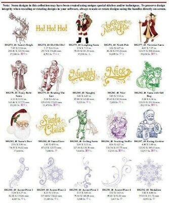Santa Clause is Coming to Town Embroidery Designs