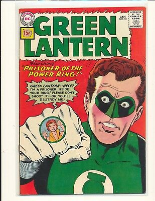 Green Lantern # 10 VG/Fine Cond. price sticker on cover