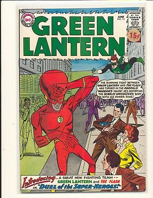 Green Lantern # 13 Fine Cond. price sticker on cover