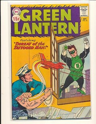 Green Lantern # 23 VG/Fine Cond. price sticker on cover