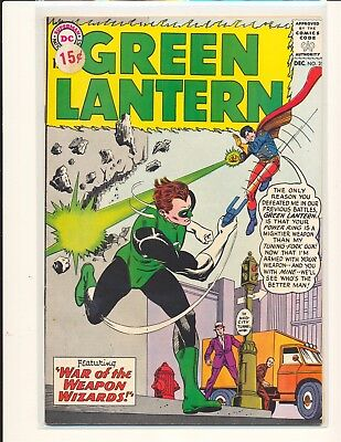 Green Lantern # 25 VG/Fine Cond. price sticker on cover