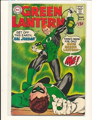 Green Lantern # 59 - 1st Guy Gardner Fine Cond. price sticker on cover