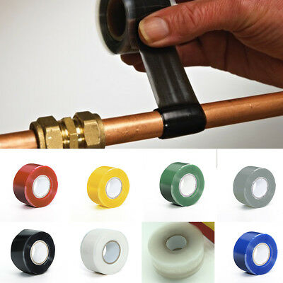 1PC/Set Self-Fusing Seal Repair Emergency Rescue Silicone Hose Water Pipes Tape