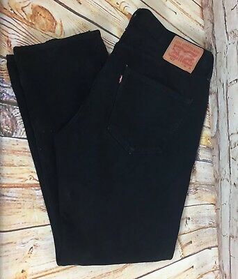 Genuine Levi Strauss & Co 501 Men's Jeans Black W36 L32 Vintage Levi's