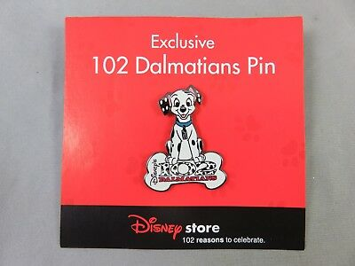 Disney Store DS Pin - 102 Dalmatians - Domino with Bone Logo