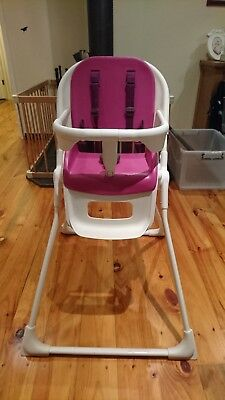 Mamas & Papas High Chair - Used - Pickup Only - Pink