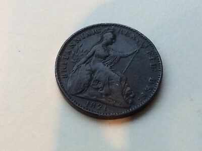 A Very Well Preserved 1821 George IIII Farthing