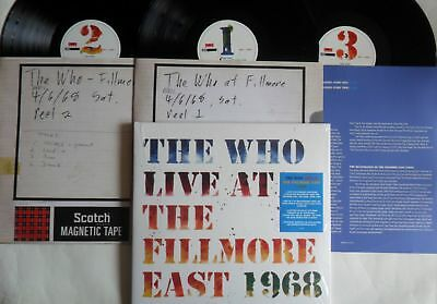 LP THE WHO Live At The Fillmore East 1968 (3LP) Polydor  6744480 - STILL SEALED