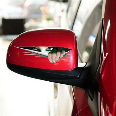 3D Eye Peeking Monster Thriller Vehicle Sticker Funny Car Window Sticker 8C