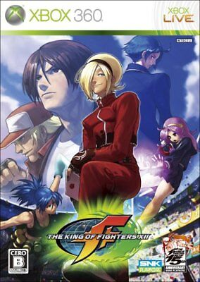 USED xbox 360 The King of Fighters XII