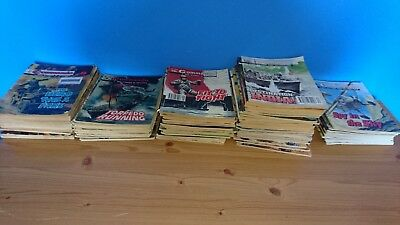 Collection of Commando Comics - used