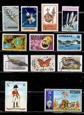 Grenada Stamps Souvenir Sheets Mint and Used