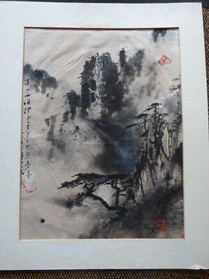 Beautiful Chinese Painting with Signature & Seal Marks