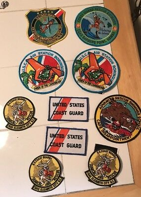 U.S. Coast Guard Patch Lot Search & Rescue United States Coast Guard