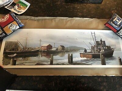 Jaws The Departure JC Richard Poster Print Signed Numbered 9/225 Regular Edition