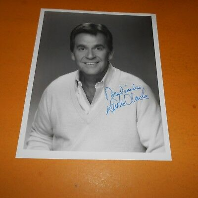 Dick Clark was an American radio and television person Hand Signed 8 x 10 Photo