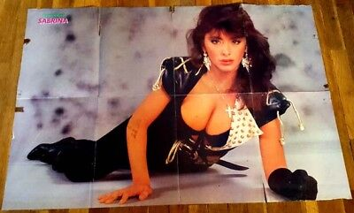 2 Super Poster Sabrina Salerno George Michael Boys Hot Girl Italo Samantha Fox