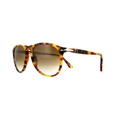 PERSOL SUNGLASSES 9649 105251 Madreterra Tortoise Clear Gradient Brown a136fbbe5675