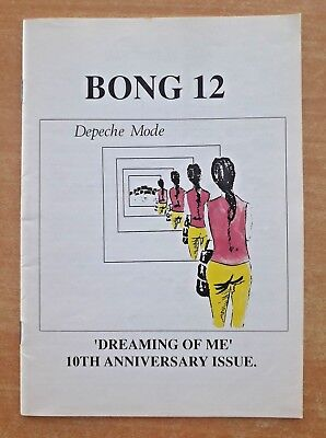 "DEPECHE MODE ""BONG 12"" (""The Depeche Mode Fan Club Magazine"") 1991"