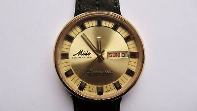 MIDO COMMANDER CHRONOMETER Automatic vintage watch RARE