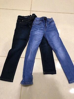 Boys Next Skinny Jeans Age 7 X 2 Pairs