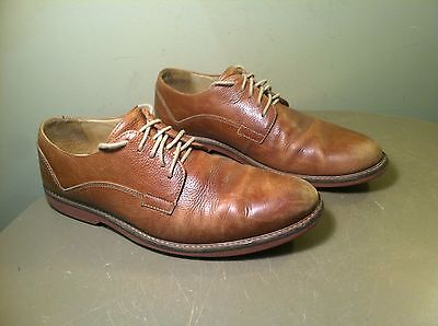 0ec1a2b7596 NORDSTROM 1901 MENS Leather Wingtip Oxford Shoes Blue Lace Up Size ...