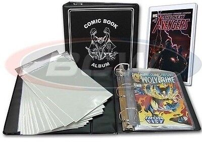 BCW Current Comic Book Album Storage Kit and Display Set Pages Bags Boards