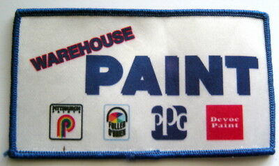 """Warehouse PAINT PATCH 5"""" by 2 3/4"""" Employee Uniform Advertising"""