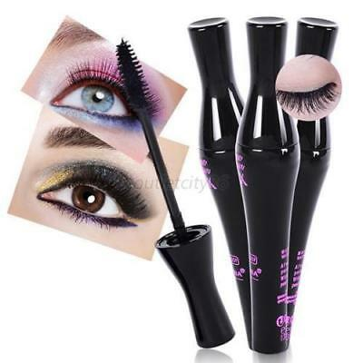 Long Friser 3D Fibre Imperméable Mascara Noir Extension de Cils Maquillage (L49)