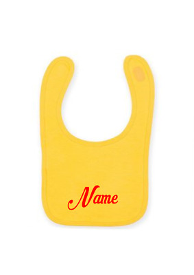 Gift  Embroidery personalised bib Any Name, boy or girl, birth cristening