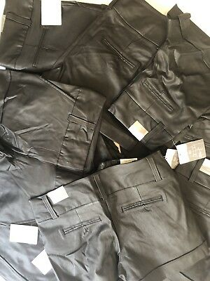 Women's Bulk Lot - Maurice Smart Shorts -Black Painted Leather NWT (MSRP $544)