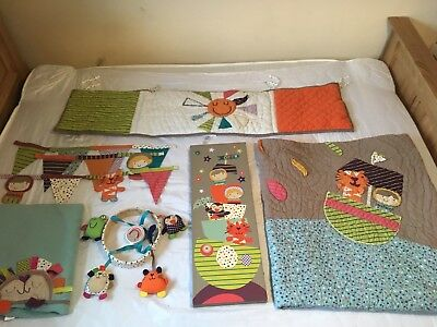 Mamas And Papas Timbuktales Nursery Baby Bedroom Bundle Excellent Condition