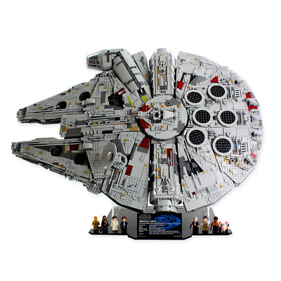 Display stand for LEGO Star Wars: UCS Millennium Falcon (75192 & 10179)