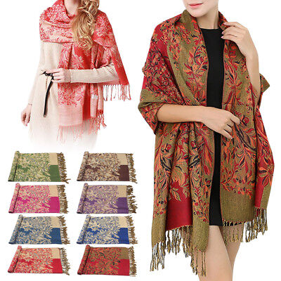 Ethnic Autumn Winter Scarves Women Ladies Scarf Beauty Print Soft Wrap Shawl New