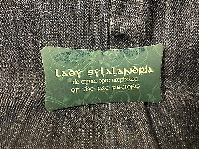 The Librarians Screen Used Lady Sylalandria Business Cards!! Ep 105