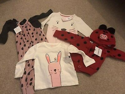 Girls Bundle 0-6 Months New Hema M&S Next