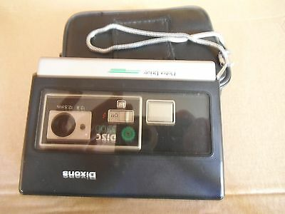 Dixons Disc 3500 Camera c/w Case and Strap - USED Disc Camera
