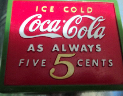 Set Of 2 Collectable  Cocoa Cola Magnets