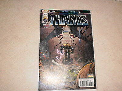 Thanos 13 2018 1St App Cosmic Ghost Rider Regular Cover First Print Raw