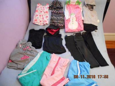 15 Pc Mixed Lot Girls Size 6-6X Used Winter Clothing (5 are nwt)